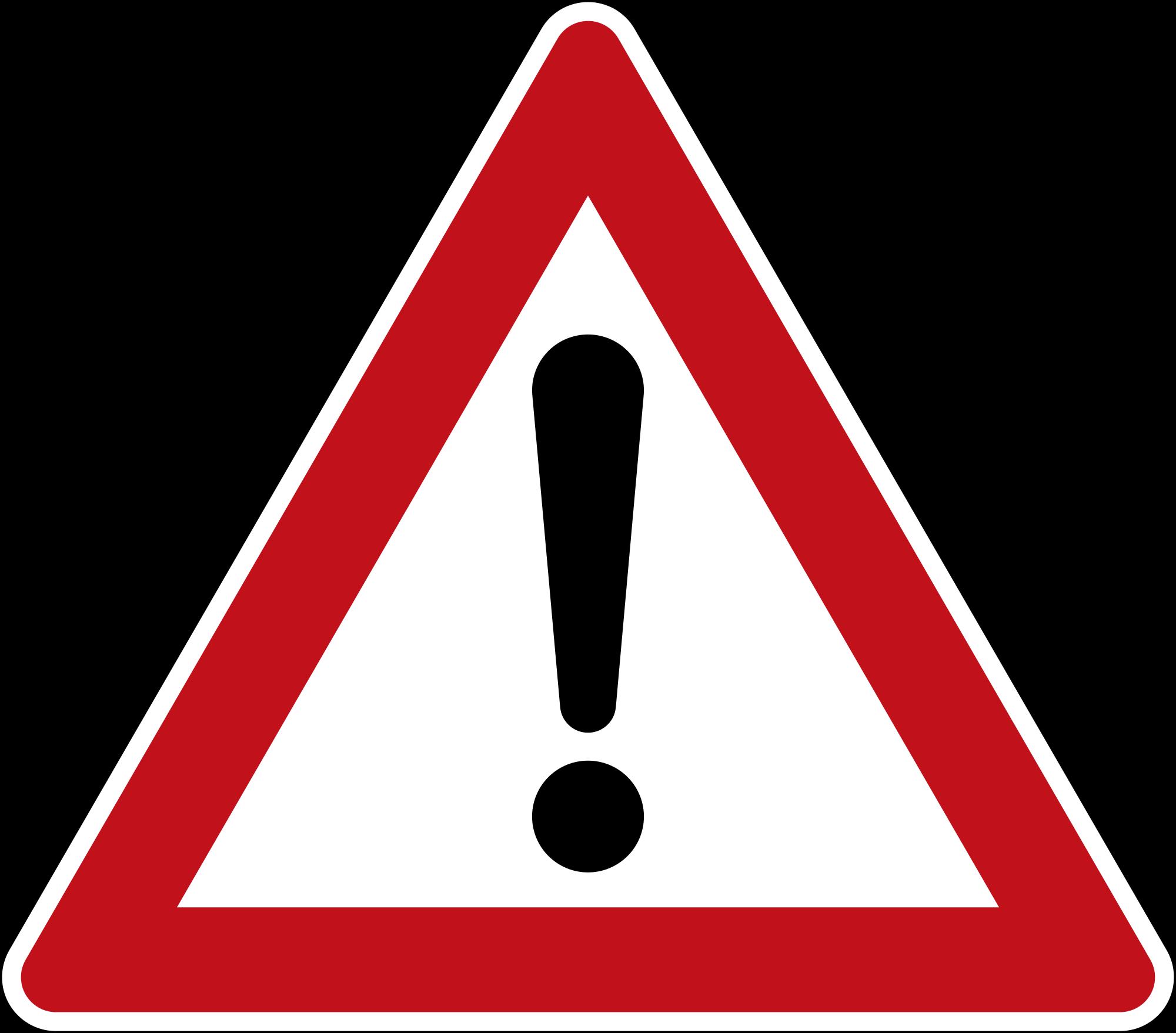 Achtung Gefahr